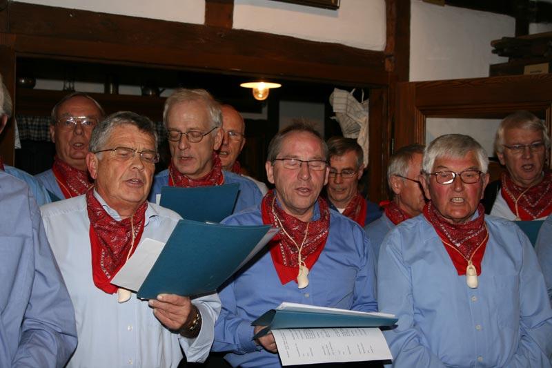 Der plattdeutsche Chor Biaewersaenger.