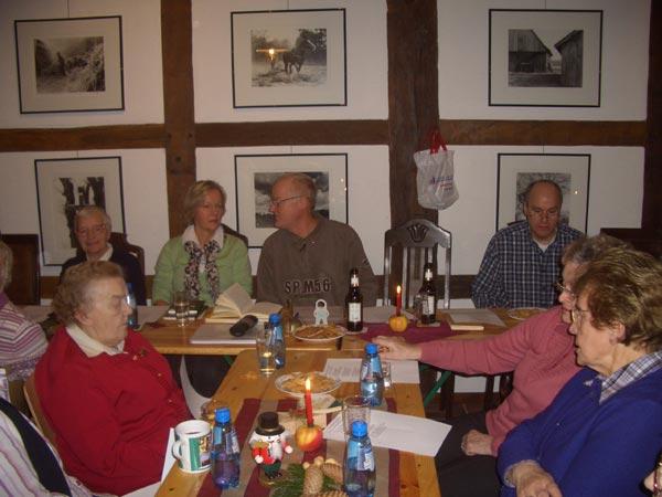 Plattdeutsche Abende im Heimathaus.
