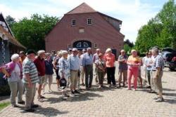 Radtour zum Hof Averbeck nach Glane